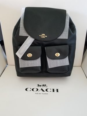 AUTHENTIC COACH BACKPACK NEW WITH TAG AND GIFT BOX for Sale in Santa Ana, CA