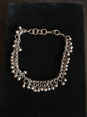 """Anklet, Silvertone, with Small Bells, 10"""", Indian, Missing Some Bells, unnoticeable when wearing, Nice Quality- Listing Hundreds Of Items for Sale in North Miami, FL"""