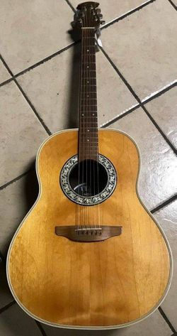 Vintage Ovation Acoustic Guitar for Sale in Palos Hills,  IL
