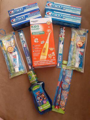 Oral care bundle for Sale in Oak Glen, CA