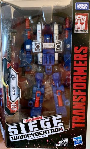 Transformers Siege War for Cybertron Cog Deluxe Class Figure for Sale in Fresno, CA