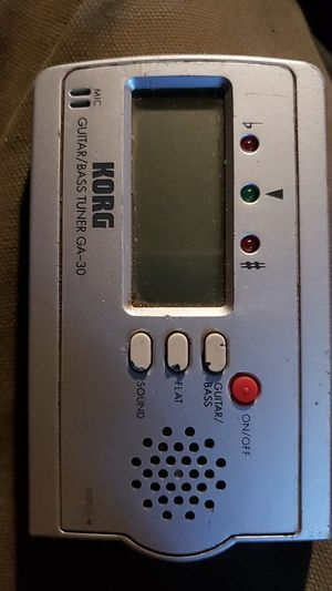 Korg guitar/ bass tuner for Sale in Gresham, OR
