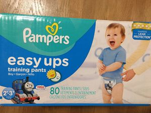 Pampers easy ups training pants, 2T-3T for Sale in Bothell, WA
