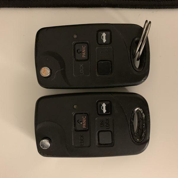 Lexus ls430 keys