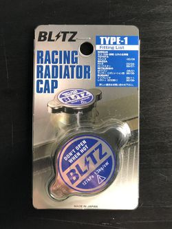 Blitz Racing Type 1 Radiator Cap *new for Sale in Seattle,  WA