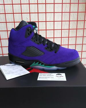 AIR JORDAN 5 RETRO ALTERNATE GRAPE SIZE 11 US MEN SHOES NEW WITH BOX $325 for Sale in Cleveland, OH