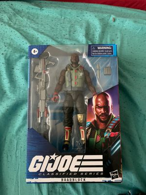 RoadBlock GI Joe Classified Series Action Figure *READY TO SHIP for Sale in TWN N CNTRY, FL