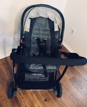 Graco click connect combo (stroller + car seat+ base) for Sale in Trevose, PA