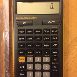 Construction Master Calculator for Sale in Fontana, CA