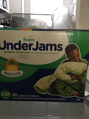 Pampers UnderJams Bedtime Underwear for Sale in Clovis, CA