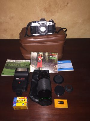 Canon AE-1 Package for Sale in CT, US