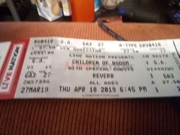 Concert Tickets ( 3)