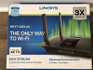 Linksys EA8500 Max-Stream AC2600 for Sale in Houston, TX