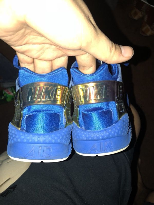 """2bcc0ab86e4e Nipsey Hussle signed """"Crenshaw"""" Huaraches Size 10.5 for Sale in ..."""