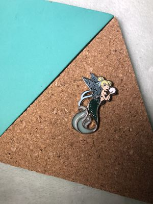 Tinker Bell as Mermaid Fantasy Pin with Stained Glass for Sale in Scottsdale, AZ