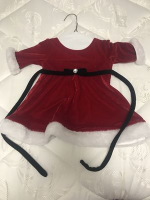 Christmas Dress 3-6 month old baby girl for Sale in Houston, TX
