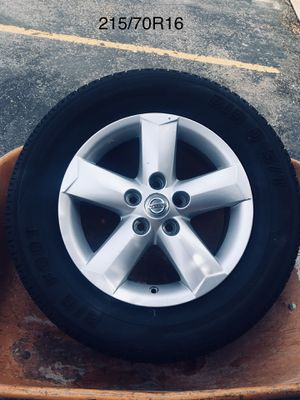 """16"""" tires and Rims for Nissan for Sale in Salt Lake City, UT"""