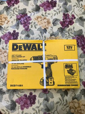Dewalt 12V combo kit.! One battery 🔋 and charger.!! Brand new.!! 🔥 $65 for Sale in San Jacinto, CA
