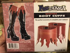 Boot covers- costume for Sale in Lexington, SC