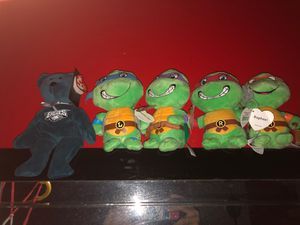 TMNT and Eagles Beanie babies. All NWT for Sale in Philadelphia, PA
