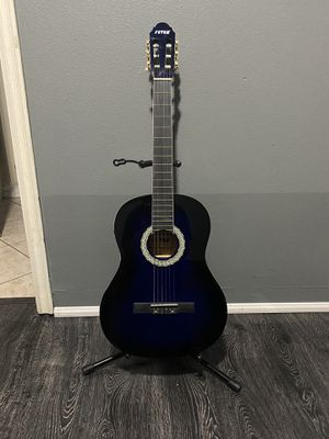 blue fever classic electric acoustic guitar for Sale in South Gate, CA