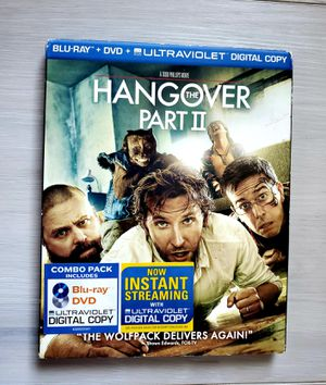 The Hangover Part II (Blu-ray/DVD, 2011, 2-Disc Set) w/ Sleeve Bradley Cooper for Sale in VLG WELLINGTN, FL