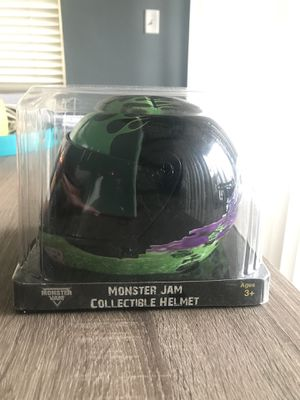 Monster Jam Grave Digger Collectible Helmet Toy for Sale in West Hollywood, CA