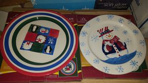 Christmas plates for Sale in Milton, FL