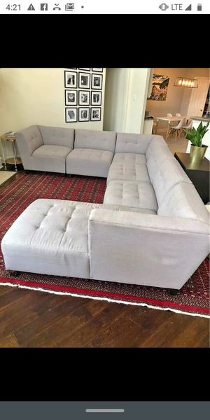 6-piece Modular Sectional for Sale in Dallas, TX