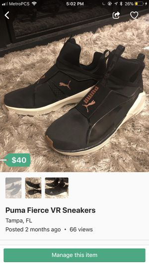 Puma Fierce VR Sneakers for Sale in Tampa, FL
