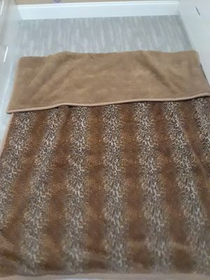 Cheetah print blanket for Sale in New Port Richey, FL
