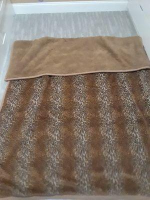 Cheetah print blanket for Sale in New Port Richey, FL