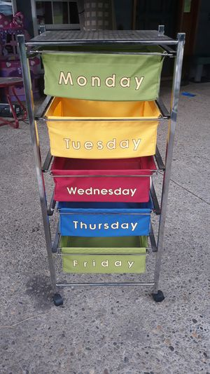 Week sorting shelf for Sale in Damascus, OR