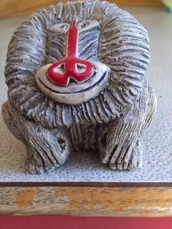 Artesania Rinconada Baboon #20 Uruguay Pottery Figurine for Sale in Bremerton,  WA