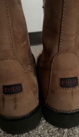 POLO RALPH LAUREN BOOTS SZ10.5 for Sale in DuPont, WA