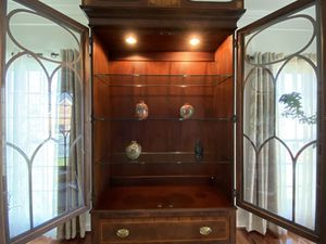 English Antique solid wood Curio for Sale in Silver Spring, MD