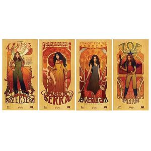 Firefly Les Femmes Poster Set for Sale in Los Angeles, CA