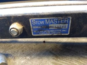 Stowmaster 5000 Stainless Steel Tow Bar for Sale in Columbia, MO