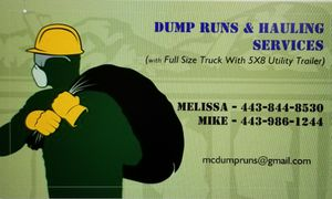 Dump Runs and hauling services. for Sale in Glen Burnie, MD