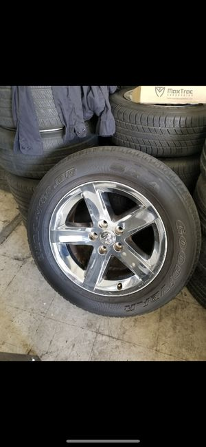 Ram wheels 20's tires are in good condition for Sale in Modesto, CA