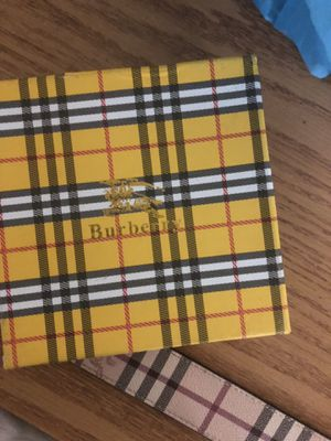 Size 34 Burberry belt for Sale in Pittsburgh, PA