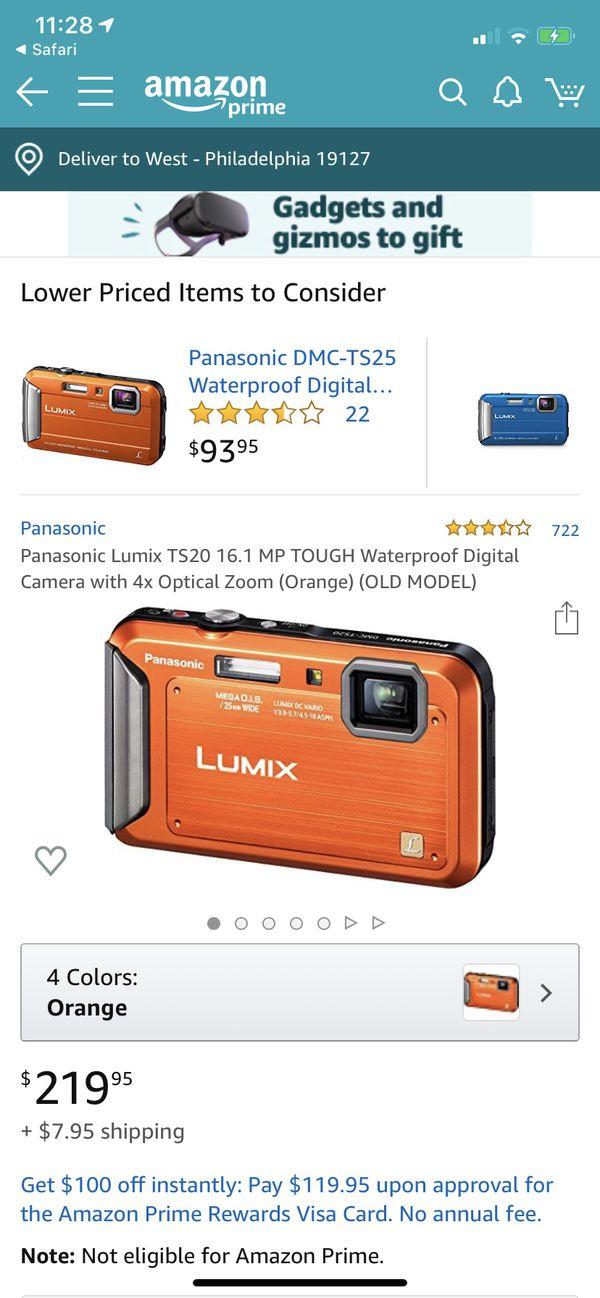 Panasonic LUMIX TS20 16.1 MP Waterproof Digital Camera