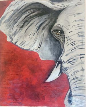Large Elephant Painting for Sale in Fresno, CA