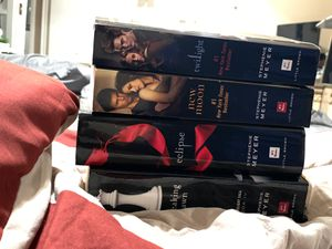Twilight book complete series for Sale in Los Angeles, CA