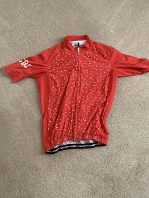Capo cycling jersey; red; large; never worn; for Sale in Moseley, VA