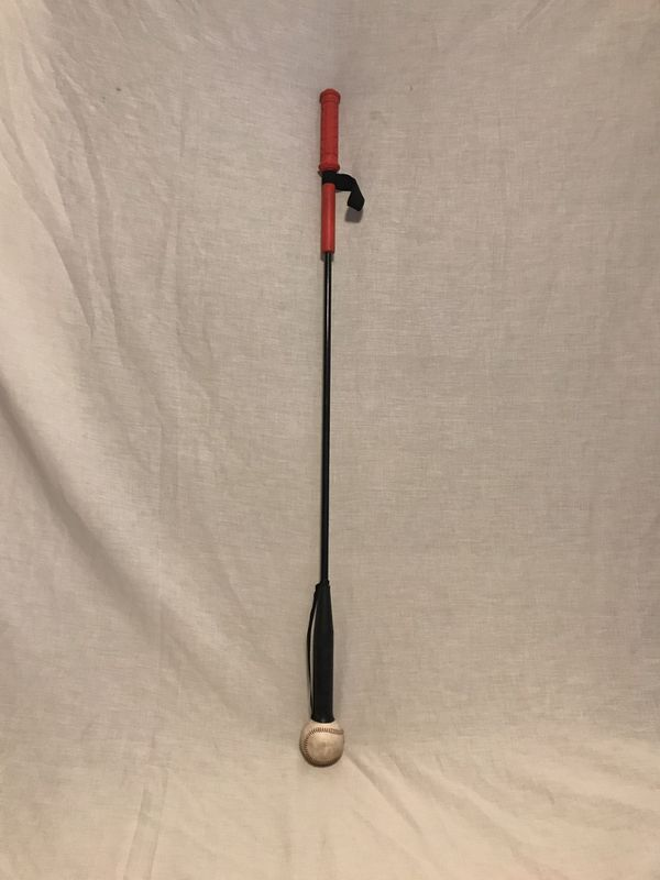 "Baseball - Tball - Softball Batting Practice Swing Trainer Stick 46"" long."