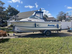 1999 22' BAYLINER TROPHY 125 Merc outboard for Sale in Deer Park, NY