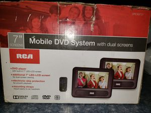 Mobile DVD System with 2 screens for Sale in Manteca, CA
