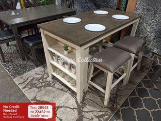 New 5pc Dining Set, SKU# HOM5603WWTC for Sale in Santa Fe Springs,  CA