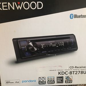 Kenwood Bluetooth Car Stereo for Sale in Aurora, CO
